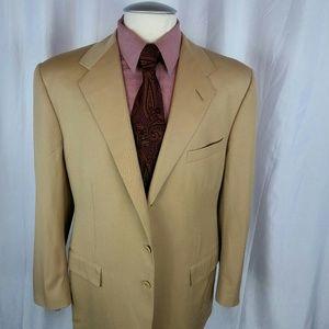 Ralph Lauren Purple Label Suit 44R Cream 3btn D.Ve